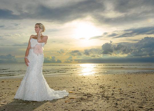 A Beach Wedding in New Jersey