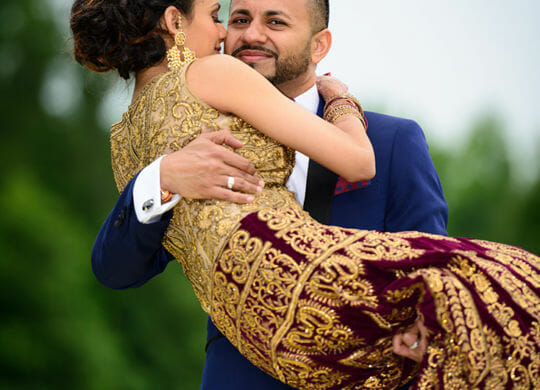 Indian Wedding at Garden Falls in Monroe Township, NJ